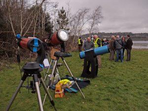Equipment Ready for Solar Eclipse
