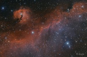 Seagull Nebula by Guest Astrophotographer Brendan Kinch