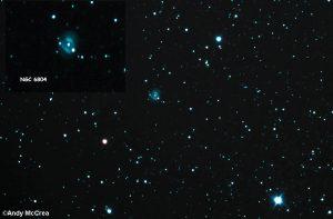 Snowball Nebula in Aquila
